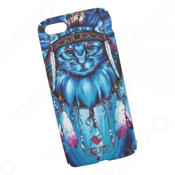 Чехол для iPhone 7/8 KUtiS Animals OK-3 «Кот» eichholtz аксессуар