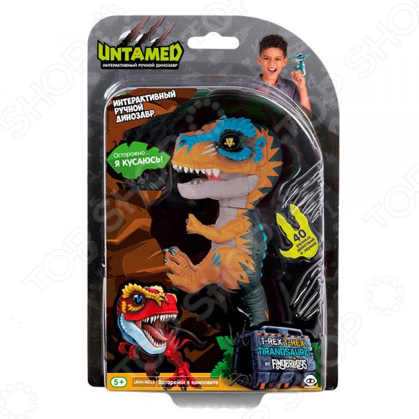 Игрушка интерактивная Fingerlings «Динозавр Скретч»
