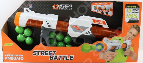 Оружие игрушечное 1 Toy Street Battle Т13653 игрушечное оружие maskbro maskbro mp002xc006ut
