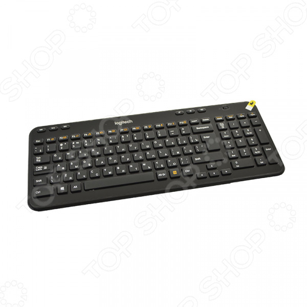 Клавиатура Logitech K360 Wireless Black цена и фото