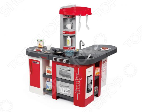 Кухня детская с аксессуарами Smoby Tefal Studio XXL smoby электронная кухня smoby tefal studio звук серо розовая
