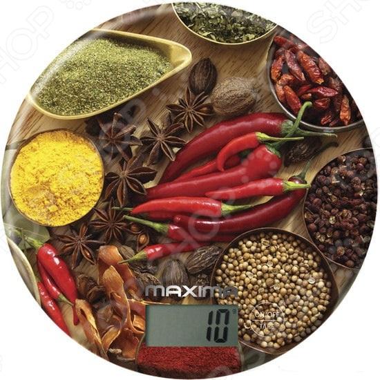Весы кухонные Maxima MS-067 «Специи» весы maxima ms 067 рисунок