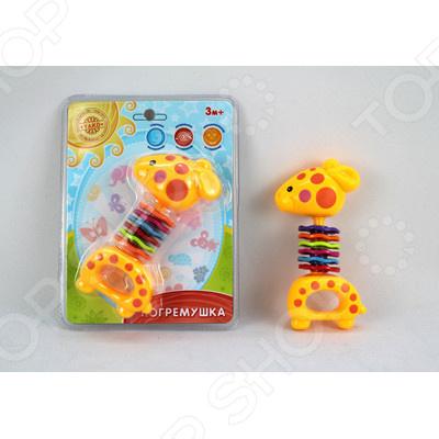 Игрушка-погремушка Yako с трещоткой Игрушка-погремушка Yako с трещоткой /
