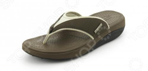 Сланцы мужские Walkmaxx Flip Flop. Цвет: коричневый 3