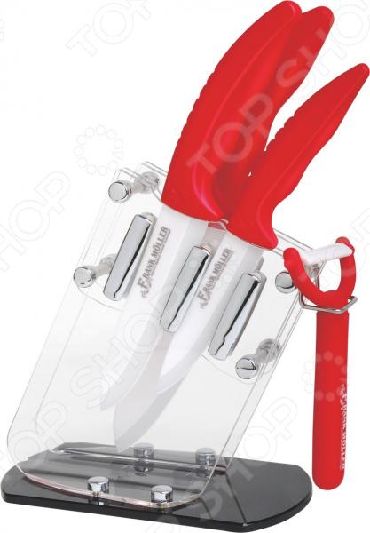 Набор ножей на подставке Frank Moller FM-343 marlies moller specialist сухой шампунь придающий объем с шелком 4г