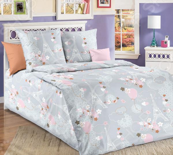 Комплект постельного белья Белиссимо «Романтика»