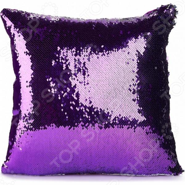 фото Подушка декоративная Bradex «Русалка фиолетовая», Декоративные подушки