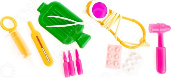 Набор доктора игрушечный Пластмастер «Врач» танк игрушечный пластмастер бармалей