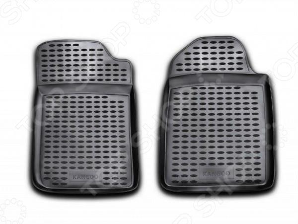 Комплект ковриков в салон автомобиля Novline Autofamily Renault Kangoo 1998-2013