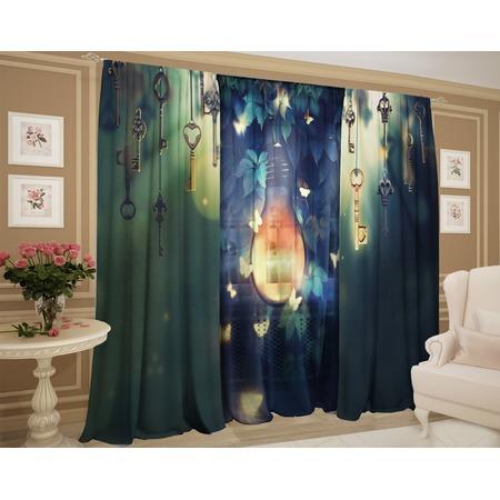 Фотокомплект: тюль и шторы ТамиТекс «Романтичная ночь»