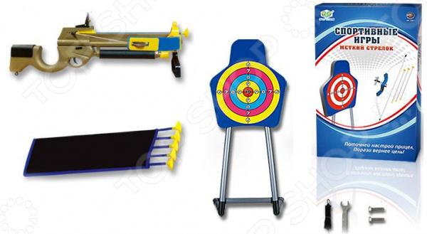 Набор оружия игрушечный с 5 стрелами «Меткий стрелок»