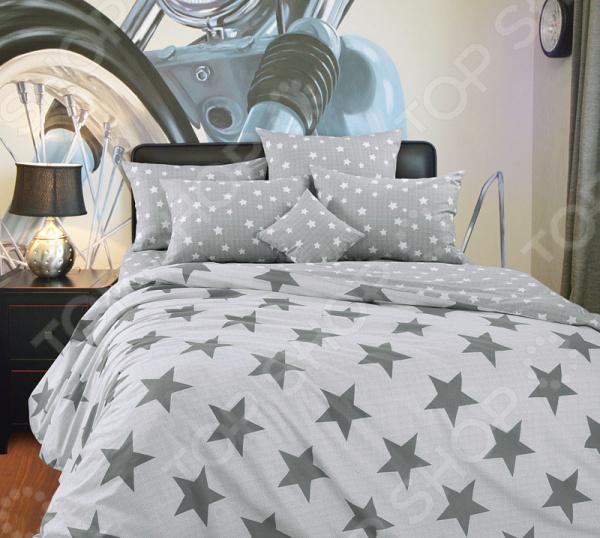 цена Комплект постельного белья Королевское Искушение «Орион» онлайн в 2017 году