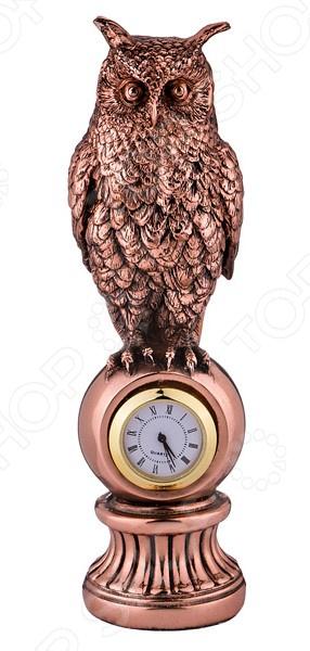 Часы настольные Lefard «Сова» 146-638 купить часы мальчику 7 лет