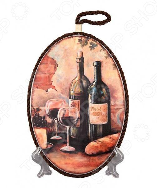 Подставка под горячее Elan Gallery «Натюрморт с вином»