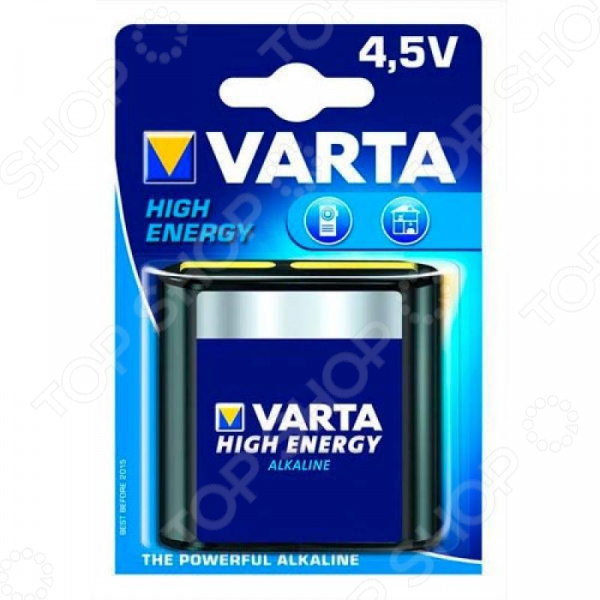 Элемент питания VARTA High energy 4,5v ipm h3o high quality hydrogen ion energy bars gold