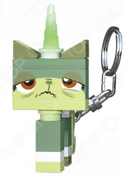Брелок-фонарик LEGO Queasy Kitty