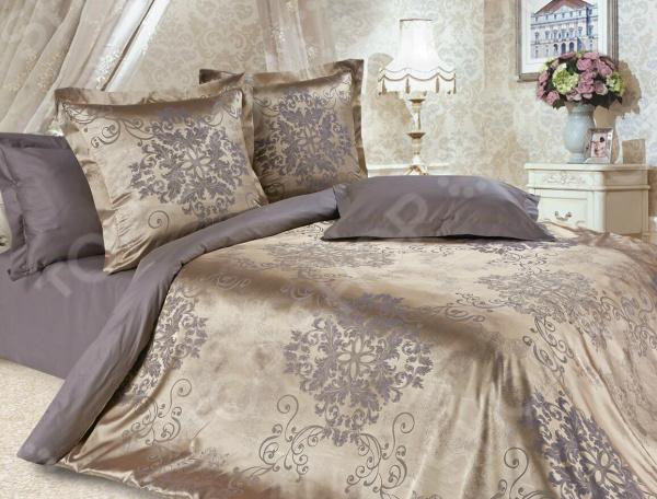 Комплект постельного белья Ecotex «Карингтон». Евро постельное белье ecotex постельное белье шоколад