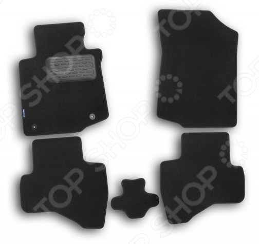 Комплект ковриков в салон автомобиля Novline-Autofamily Peugeot 508 2011 седан. Цвет: черный комплект ковриков в салон автомобиля novline autofamily honda civic 4d viii 2006 2011 цвет черный