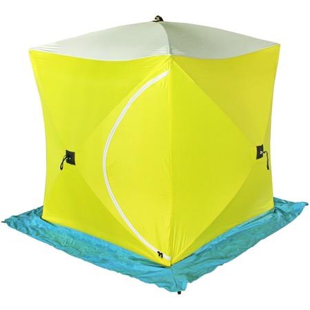 Купить Палатка СТЭК «Куб 3» трехслойная брезентовая