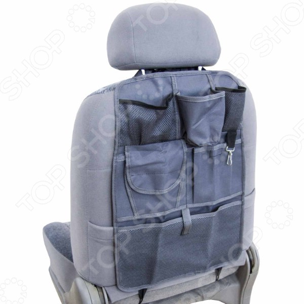 Накидка-органайзер для спинки сиденья SKYWAY с 7 карманами
