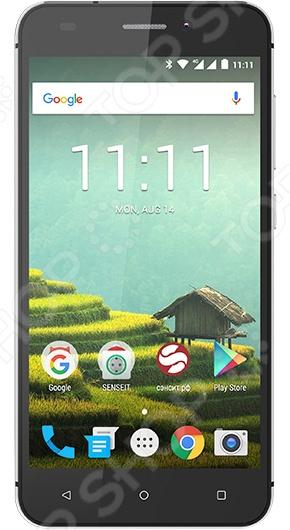 Смартфон SENSEIT T100 8Gb смартфон senseit a200