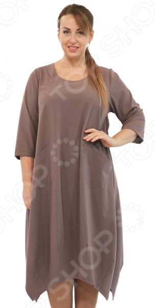 Платье Pretty Woman «Сивилла». Цвет: кофейный