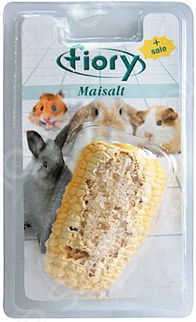 Камень минеральный для грызунов Fiory с солью в форме кукурузы Maisalt