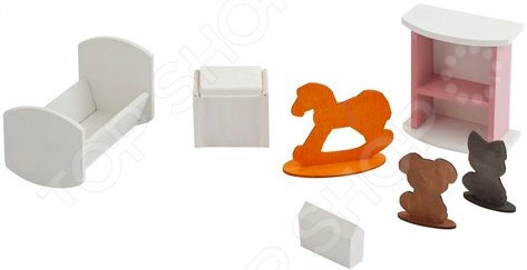 Набор мебели для Барби PAREMO «Детская спальня» кукольные домики и мебель paremo набор мебели спальня
