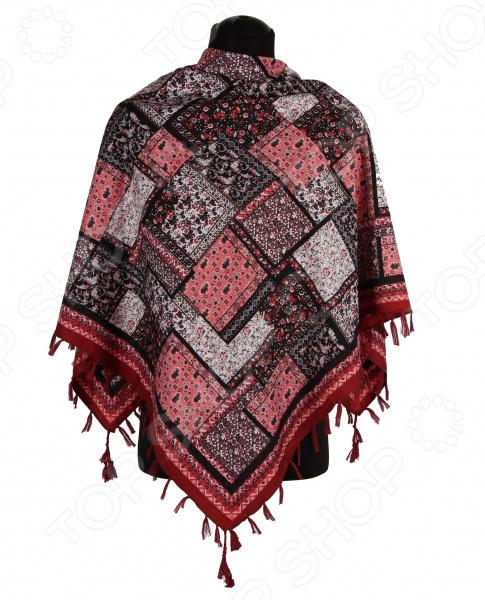 Платок Bona Ventura PL.XL-H.Pr.6 недорогой платок на шею для женщин