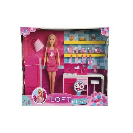 Купить Кукла с аксессуарами Simba Штеффи на кухне