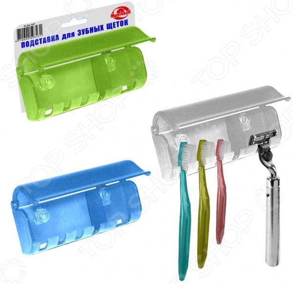 Подставка для зубных щеток Мультидом TL34-147. В ассортименте подставка для зубных щеток мультидом tl34 152 в ассортименте