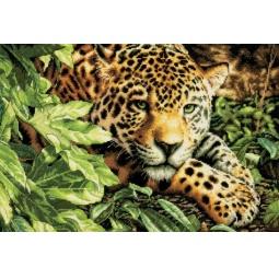Канва для вышивания Dimensions «Леопард»