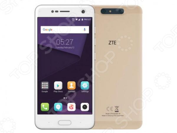 Смартфон ZTE Blade V8 skinbox флип кейс zte blade x5