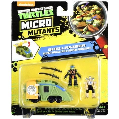 Купить Игровой набор Nickelodeon Shellraiser. Super Ninja Leo & Super Shredder