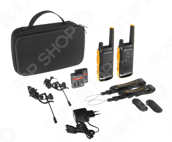 фото Комплект из двух раций Motorola Talkabout T82 Extreme, Рации