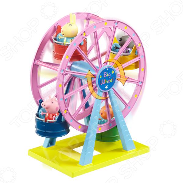 Игровой набор с фигуркой Peppa Pig «Колесо обозрения. Луна-Парк»