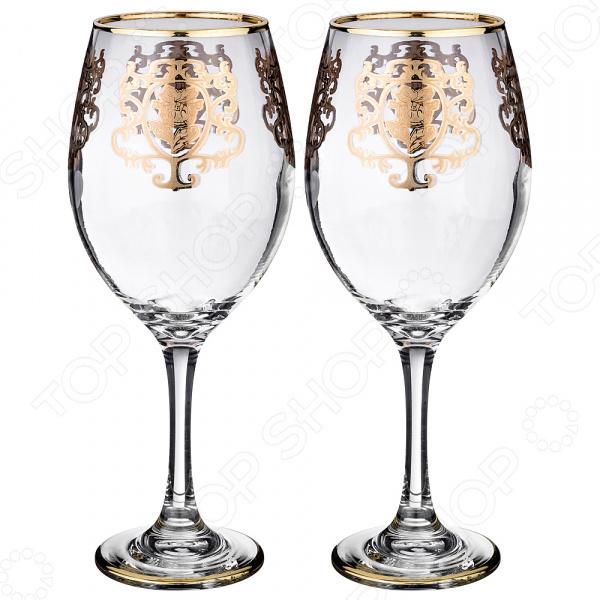 Набор бокалов для вина ART DECOR «Позитано» набор бокалов crystalex джина б декора 6шт 210мл шампанское стекло