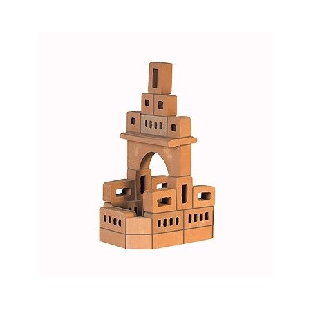 Купить Конструктор из глины Brick Master «Кирпичики. Родник 2 в 1»