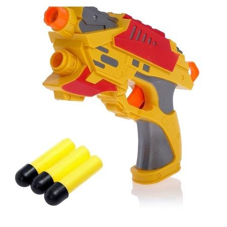 Купить Пистолет «Воин» с мягкими пулями в комплекте. В ассортименте