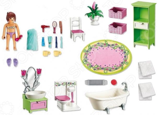 Конструктор игровой Playmobil «Кукольный дом: Романтическая ванная комната» playmobil игровой набор кукольный дом жилая комната