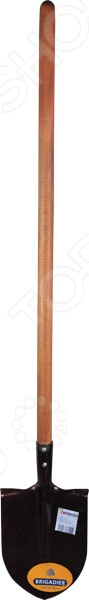 Лопата штыковая Brigadier 87016 лопата штыковая усиленная с деревянной рукояткой brigadier 88104