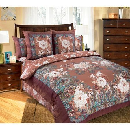 Купить Комплект постельного белья Королевское Искушение «Коралл». Евро