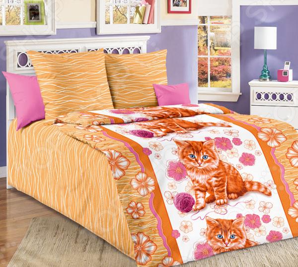 Детский комплект постельного белья Бамбино «Рыжик»