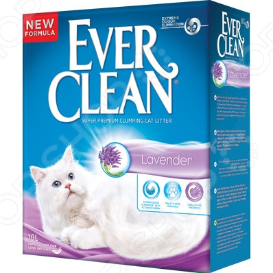 Наполнитель для кошачьего туалета Ever Clean Lavender 29900