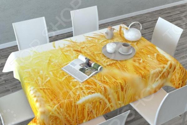 Фотоскатерть Сирень «Пшеница» скатерть сирень ваниль