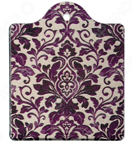 Подставка под горячее Gift'n'home «Фиолетовый узор» подставка под горячее 16х19 gift n home подставка под горячее 16х19
