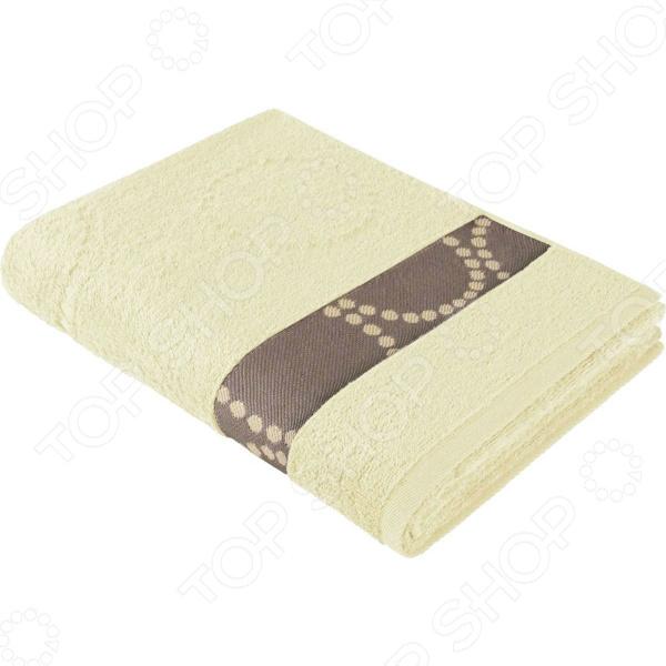Полотенце махровое Aquarelle «Таллин вид 2». Цвет: ваниль полотенце махровое aquarelle таллин 1 цвет ваниль 50 х 90 см 707762