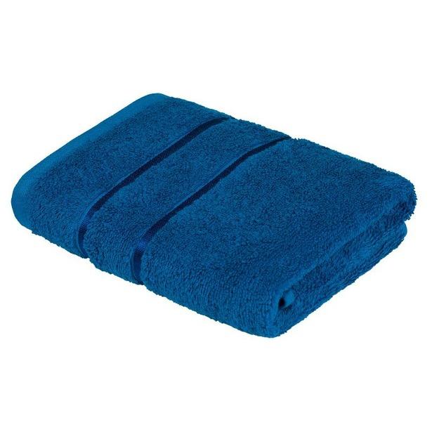 фото Полотенце махровое Ecotex «Египетский хлопок». Цвет: синий. Размер полотенца: 70х130 см