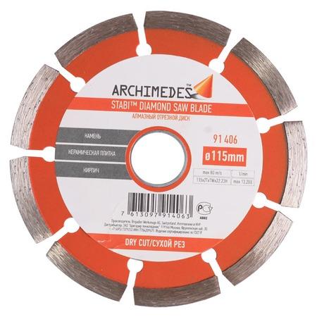 Купить Диск отрезной Archimedes 91406
