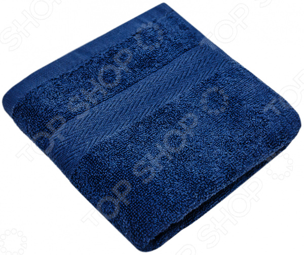 Полотенце махровое Василиса «Конфетти». Цвет: синий